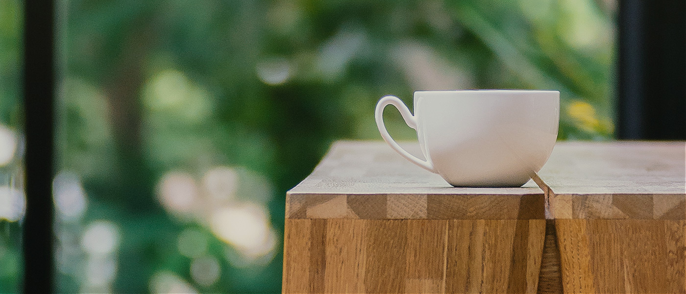 Coffee Cup on Bench